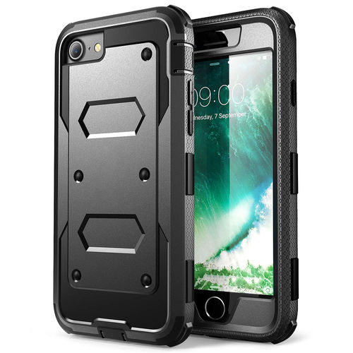 Full Body Shockproof Case & Belt Clip Holster for Apple iPhone 8 / 7